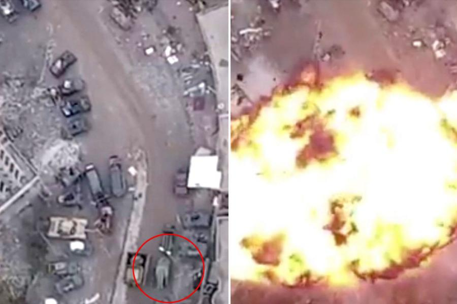 Sky crew survives IS bomb explosion in Mosul