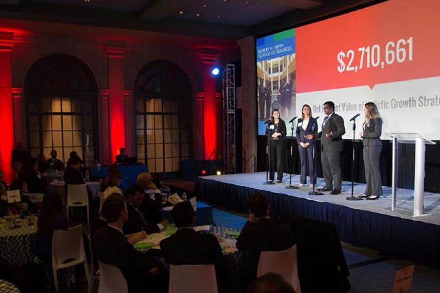 Smith MBAs Win $12,000 Grand Prize at U.S. Chamber Foundation's inaugural MBA Case Competition