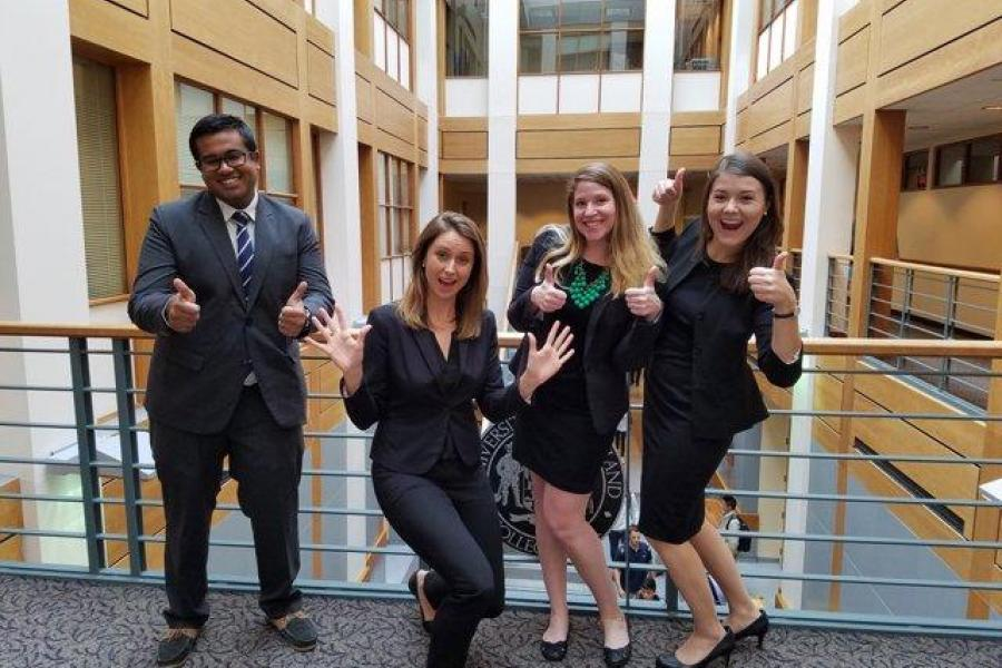 Smith Team in Finals of U.S. Chamber Foundation`s Inaugural MBA Case Competition