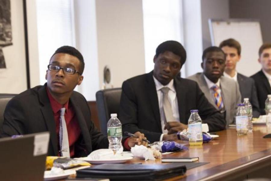 Smith's Business Academy Visits Alumni in NYC