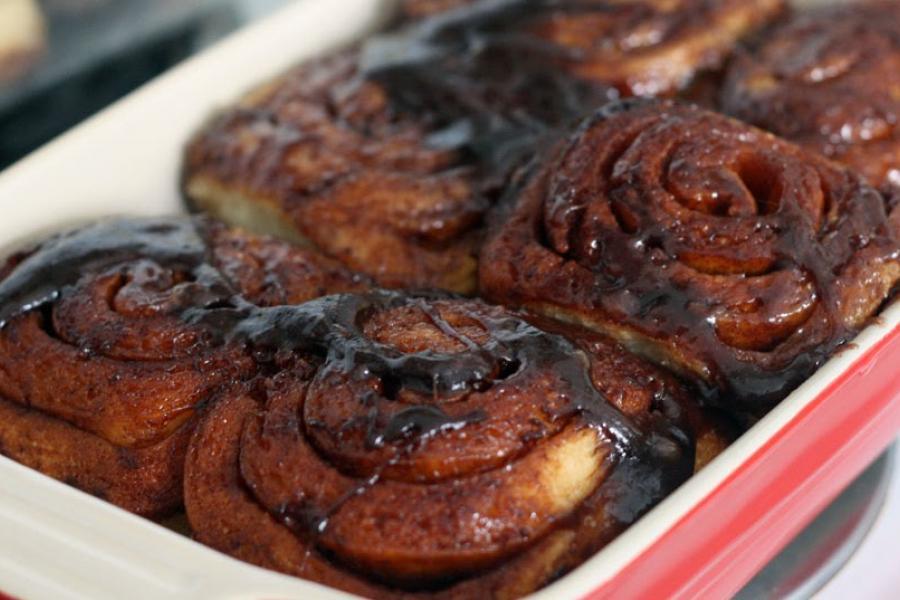 Sourdough Cinnamon Bun & Celebrating the launch of a new...