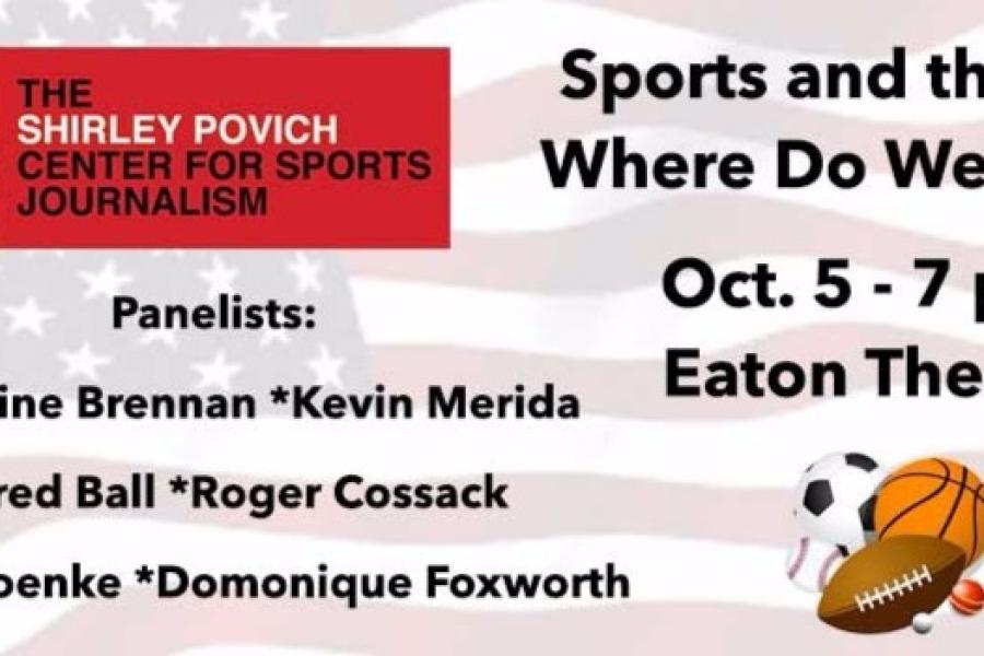 Oct. 5: Sports and the Flag: Where Do We Stand?