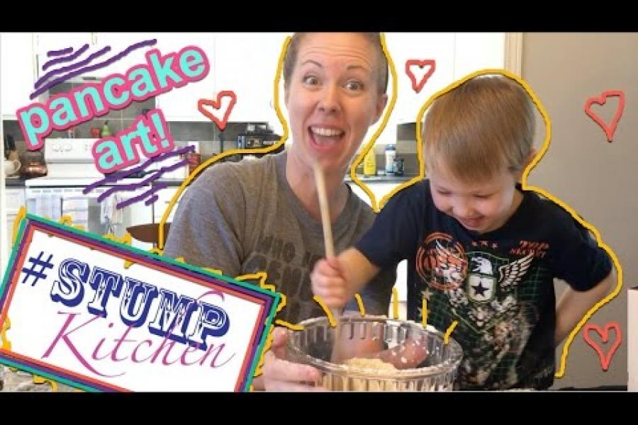Stump Kitchen 23: How to make Pancake Art!