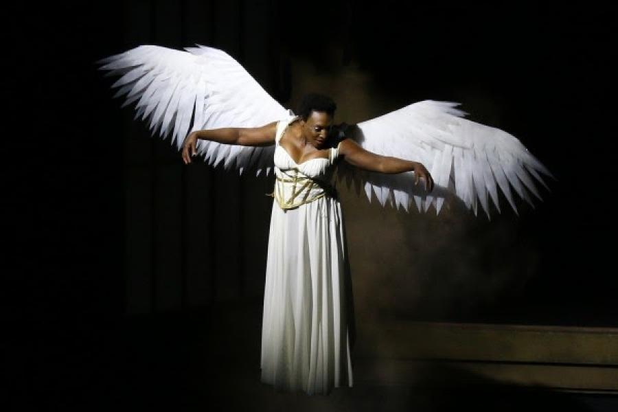 """UMD's Mitchell Hébert Performs in """"Angels in America"""""""