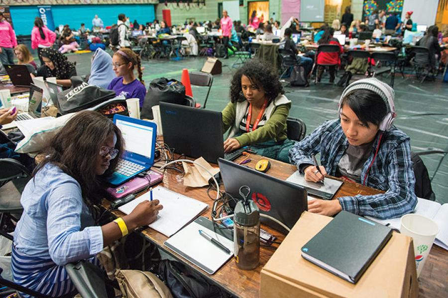 Technica, UMD`s First All-Female Hackathon, Draws 400