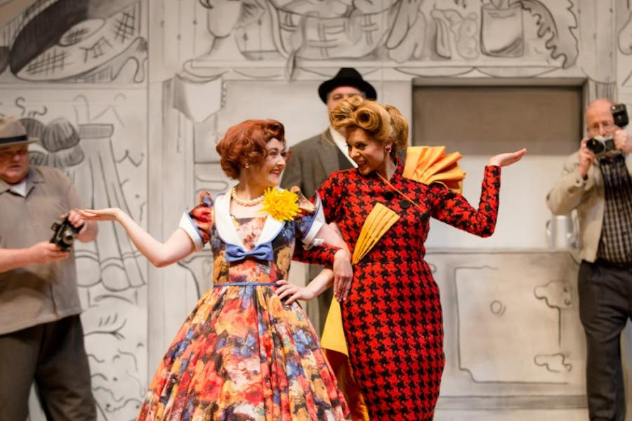 The Sassy Sisters of Cinderella. An Interview with Caitlin Wood...