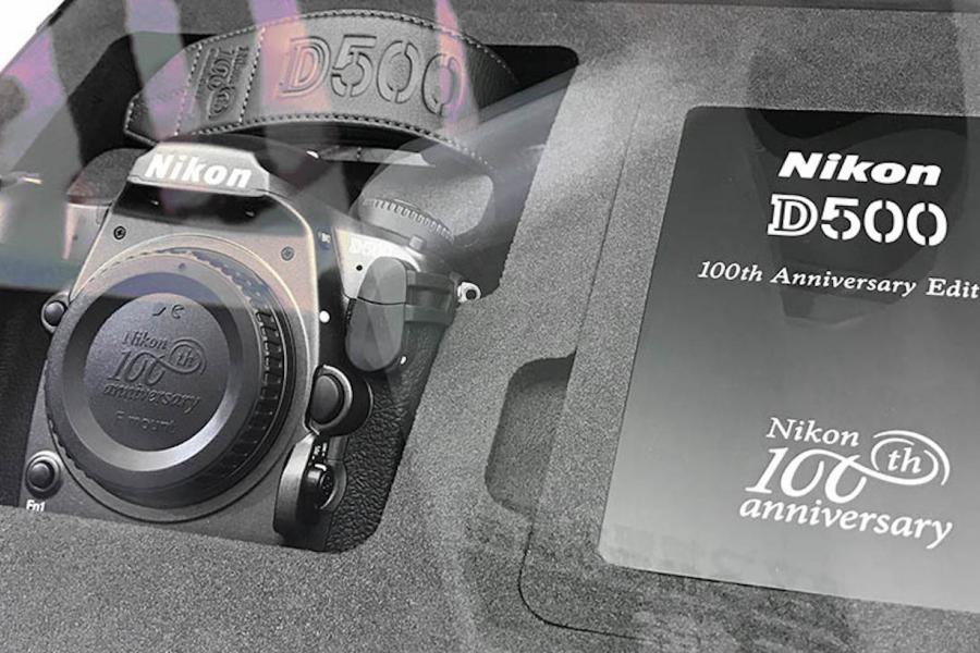 These are Nikon's Ultra-Limited Edition 100th Anniversary DSLRs...