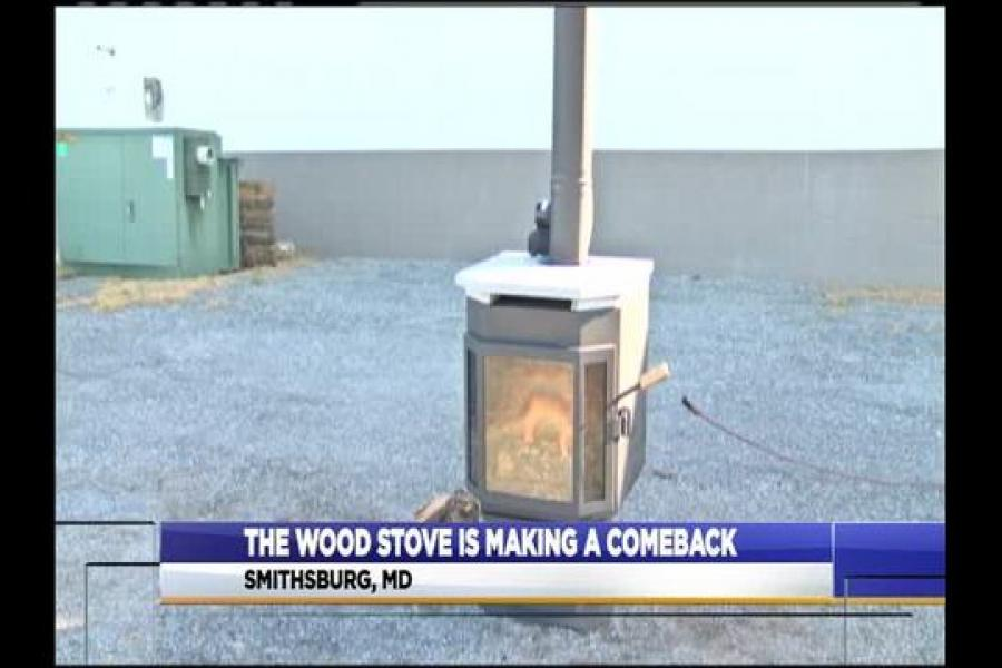 Two Entrepreneurs Create First Ever Clean, Natural, Wood-Burning Stove