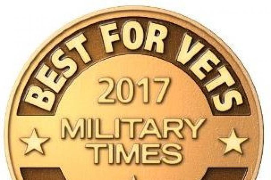 "UMD Named Among ""Best for Vets"" by Military Times"