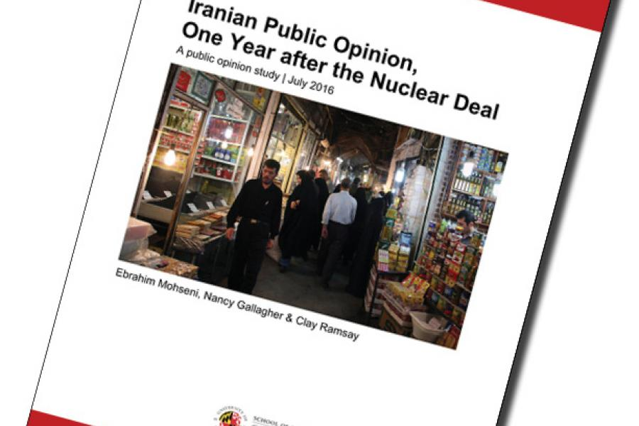 UMD Poll Reveals That As Benefits From Nuclear Deal Fall Short of Iranian Public`s Expectations, Ahmadinejad Closes In On Rouhani