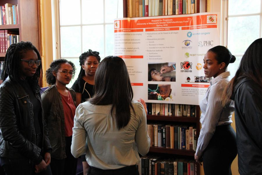 UMD Students Work Together to Have a Global Impact