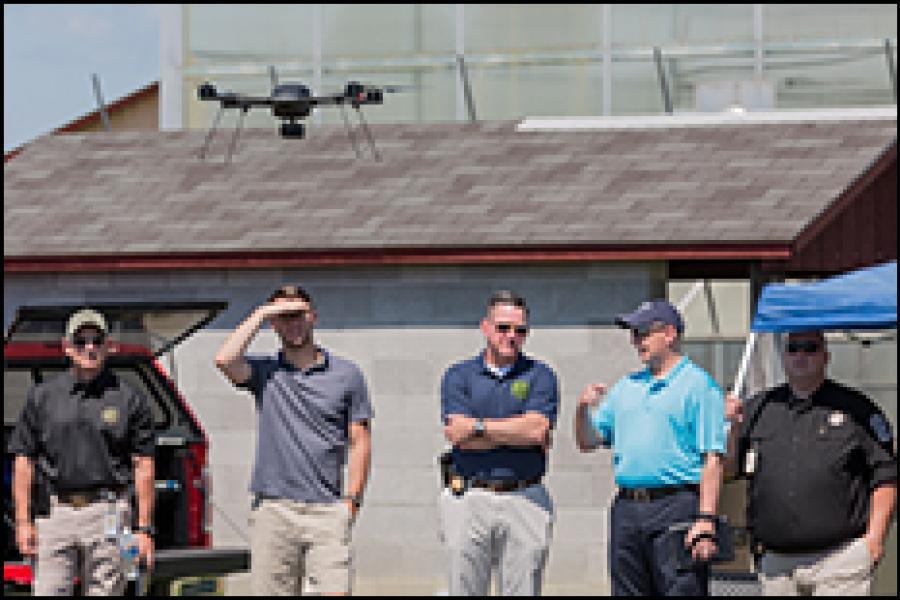 UMD UAS Test Site Hosts Public Safety Demonstration for First Responders