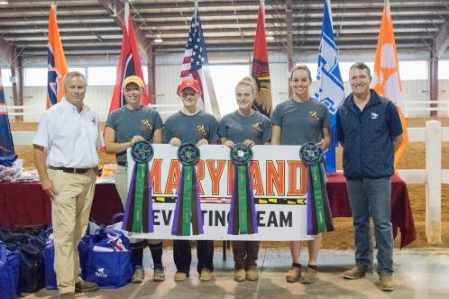 UMD's Eventing Team Take Home 6th in Their Inaugural Year