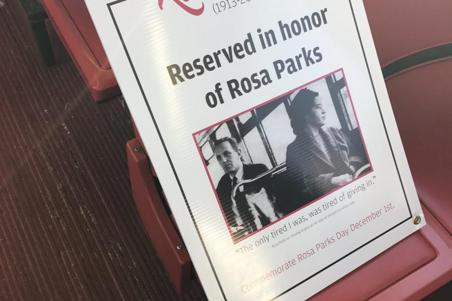 Baltimore Sun: UMD`s Transportation Department Honors Rosa Parks With Reserved Bus Seats