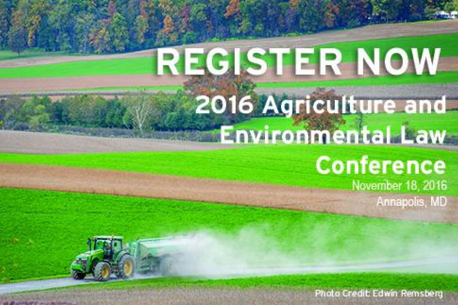 Nov. 18: UMD Highlights Agricultural Legal Issues at 2nd Annual Conference