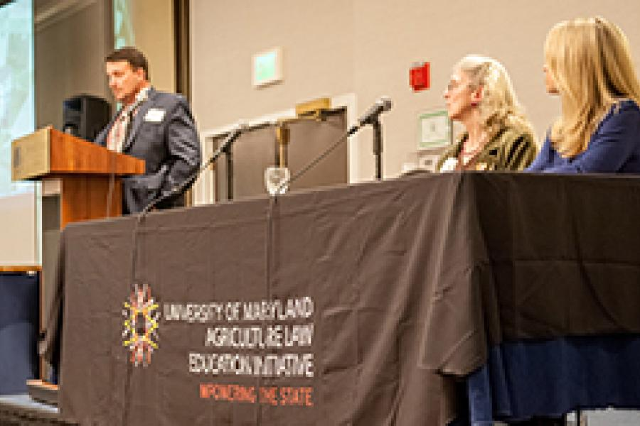 UMD Hosts Sold-Out Agricultural Environmental Law Conference