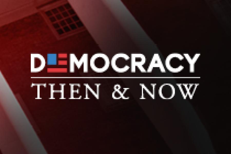 "Sept. 29: UMD Launches ""Democracy Then and Now"""