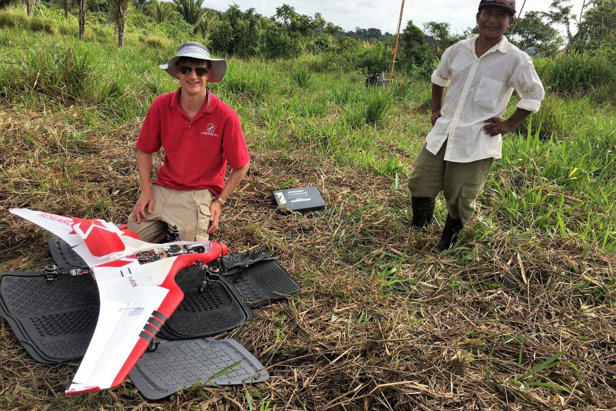 UMD Pushes Beyond Line of Sight to Map Impacts of Traditional Farming in Belize