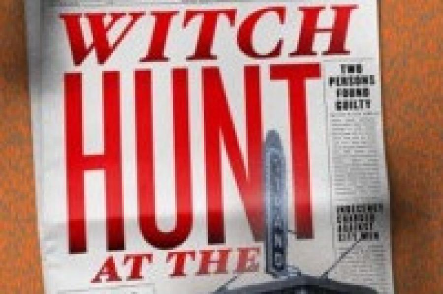 Witch Hunt at the Strand delves into a dark period in...
