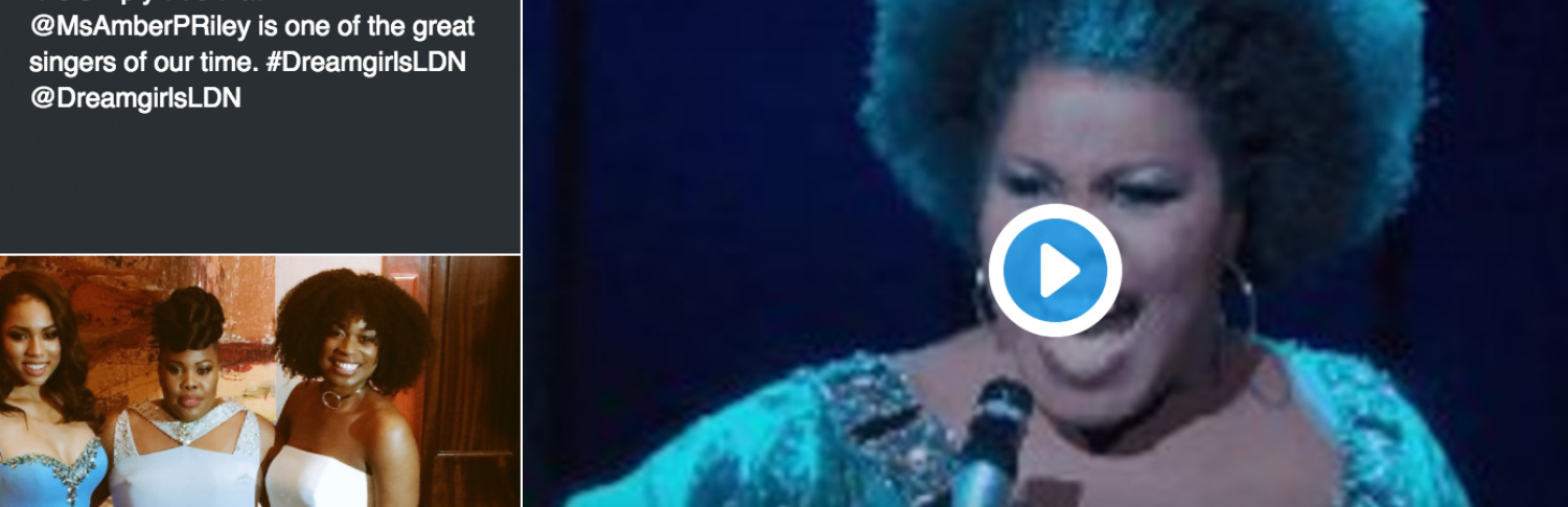 The Top Ten tweets from Dreamgirls' West End premiere