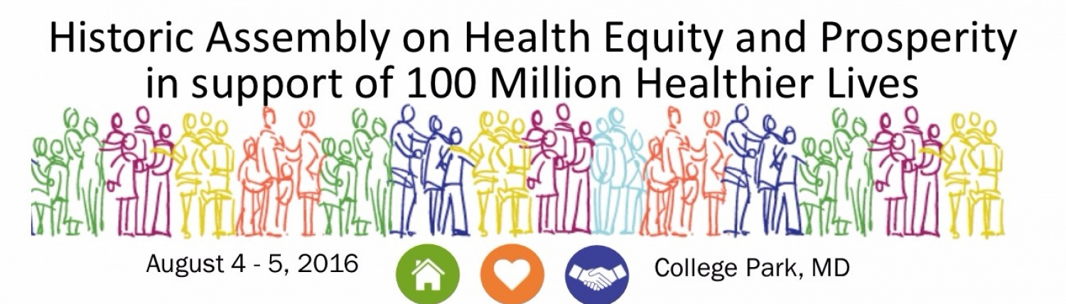 Health Equity and Prosperity Conference | UMD School of Public Health