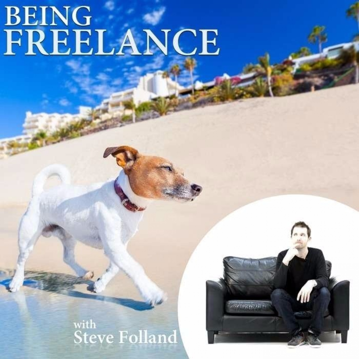"<div style=""text-align: center;""><strong>Being Freelance - A Podcast About Freelancing</strong></div>"