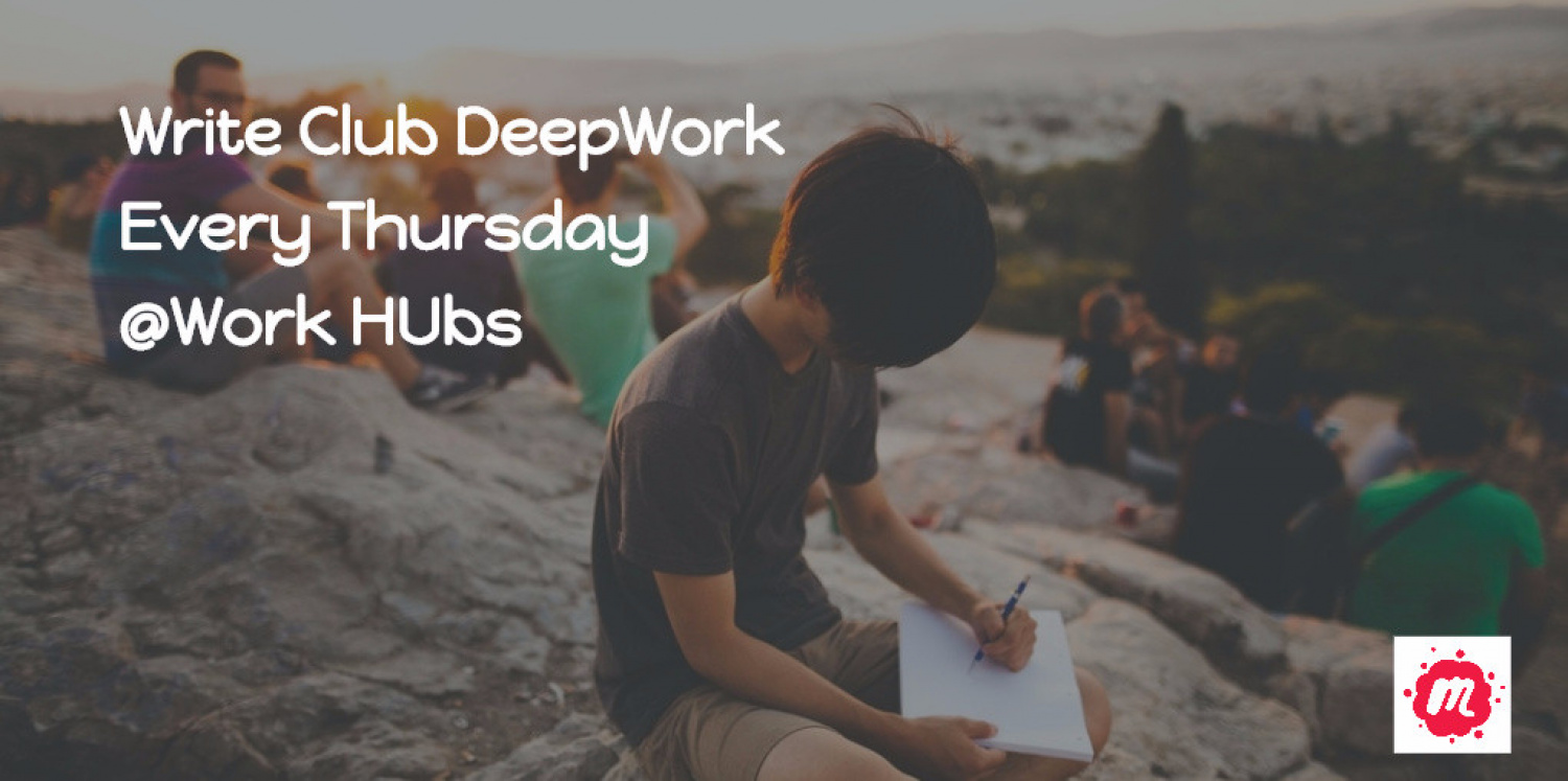 Join Our Write Club 'Deep Work'