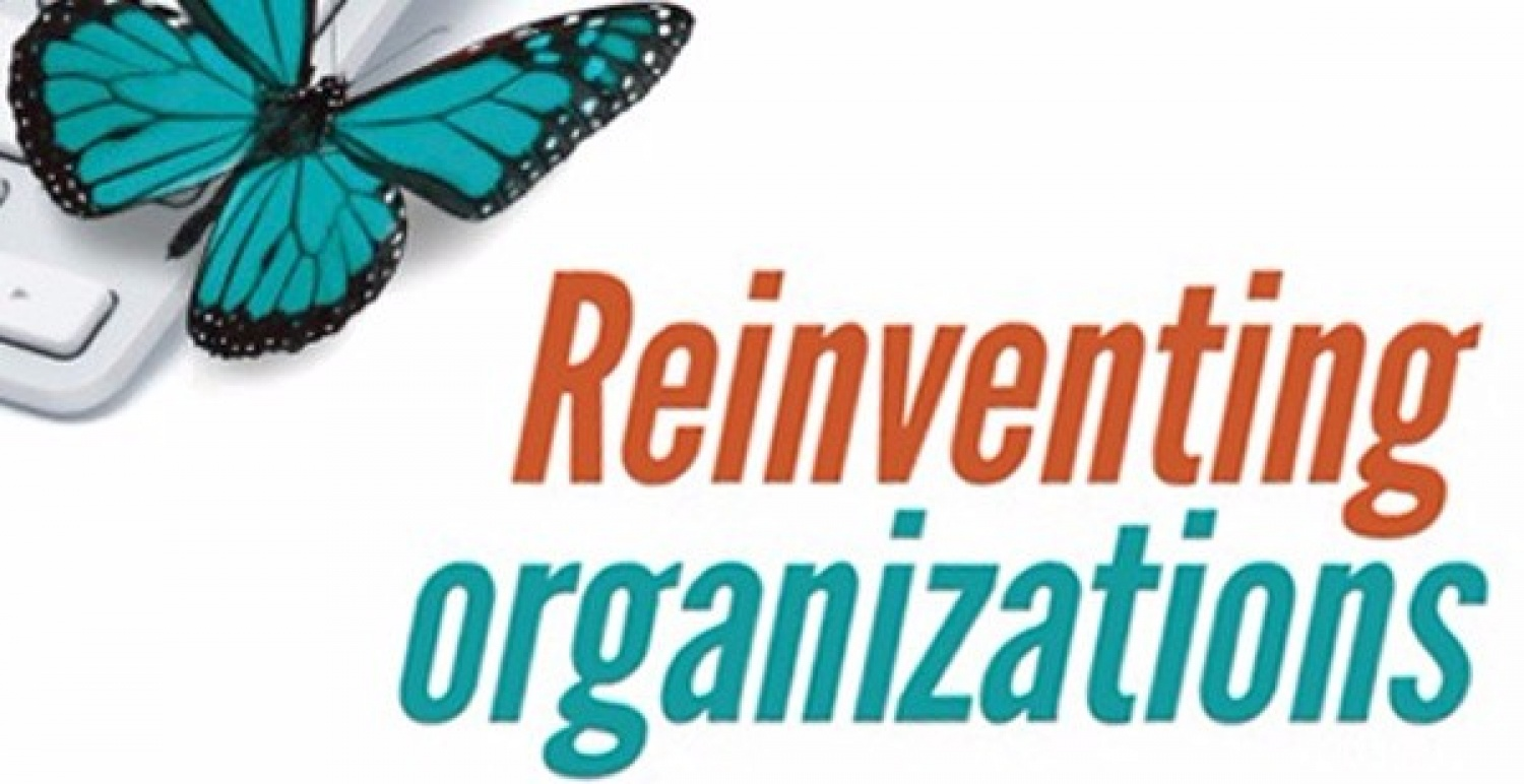 "<div style=""text-align: center;""><strong>Reinventing Organizations</strong></div>"