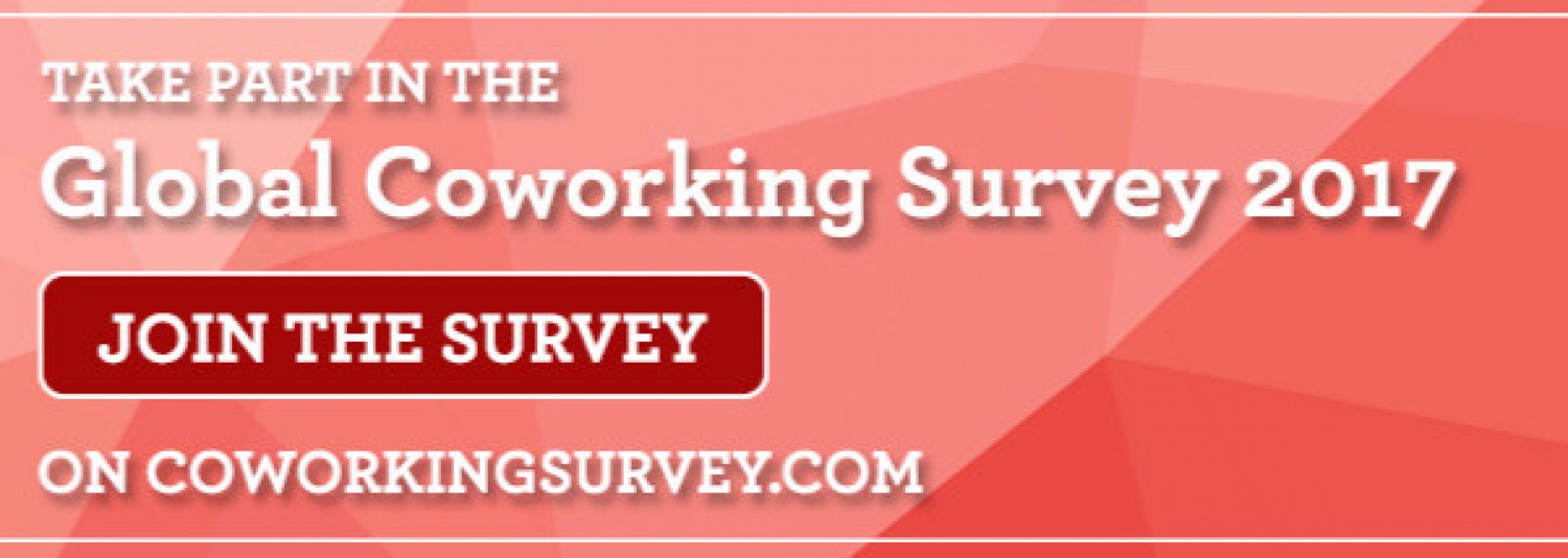 The Global Coworking Survey is back - and now open