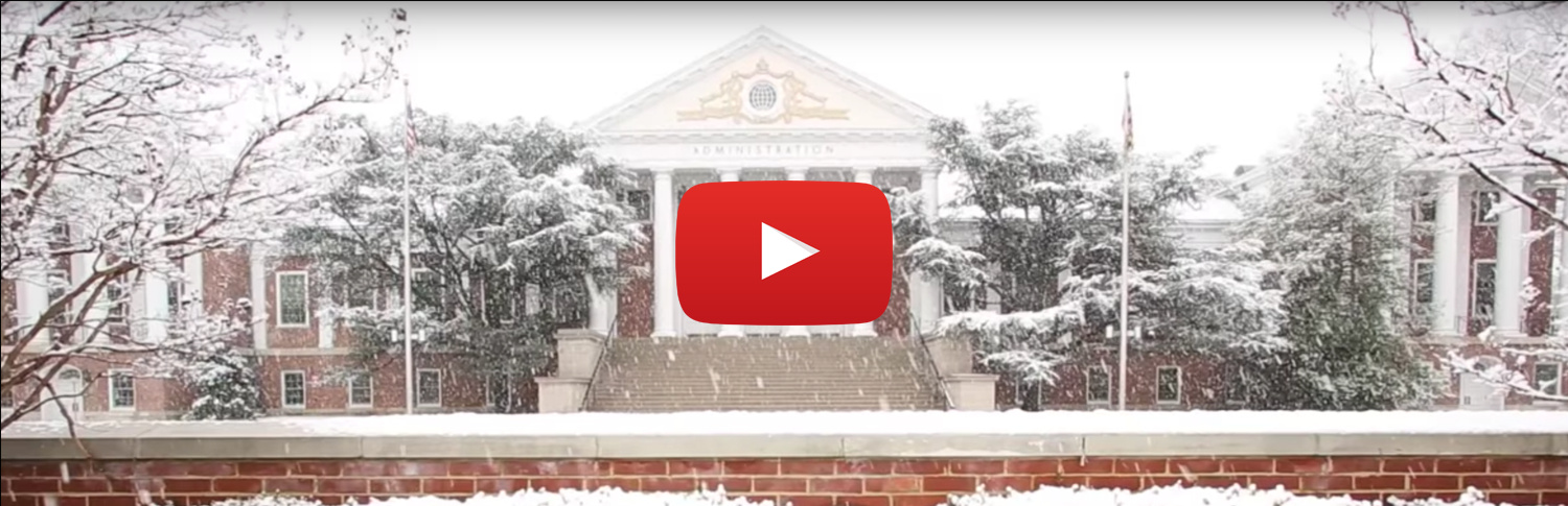 Video: University of Maryland 2016 Holiday Greetings!