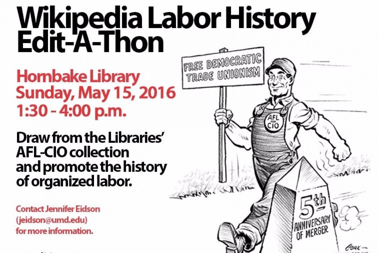 Wikipedia Labor History Edit-A-Thon