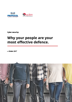 Publication: Cyber security: Why your people are your most effective defence