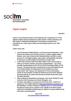 Publication: Digital Insights