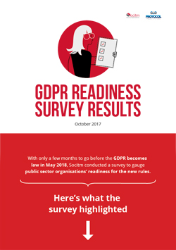 Publication: GDPR readiness survey results - infographic