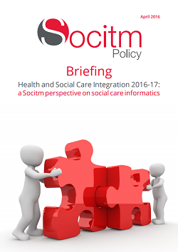 Publication: Health and Social Care Integration 2016-17