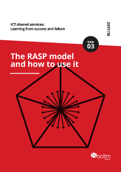 ICT shared services: Learning from success and failure - Guide 3 - The RASP model and how to use it
