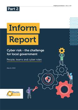 Front cover for Inform Report - Cyber risk - people teams and cyber roles - Part 2