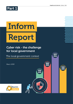 Front cover for Inform Report - Cyber risk - the local government context - Part 1