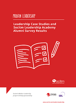 Modern Leadership -  Leadership Case Studies and Socitm Leadership Academy Alumni Survey Results