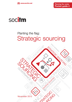 Publication: Planning the Routes Pocket Guide 4 - Strategic sourcing