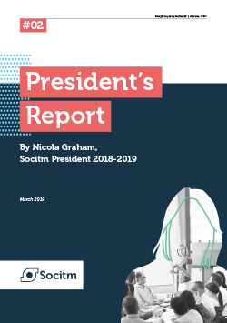 Front cover for President's Report #2