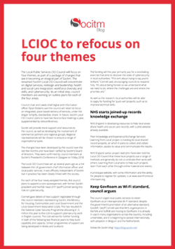 Socitm Blog Post: LCIOC to refocus on four themes