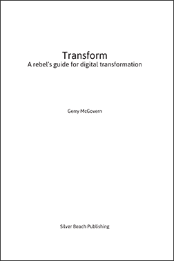 Transform: A Rebel's Guide to Digital Transformation