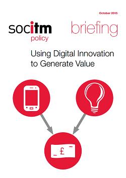Publication: Using Digital Innovation to Generate Value