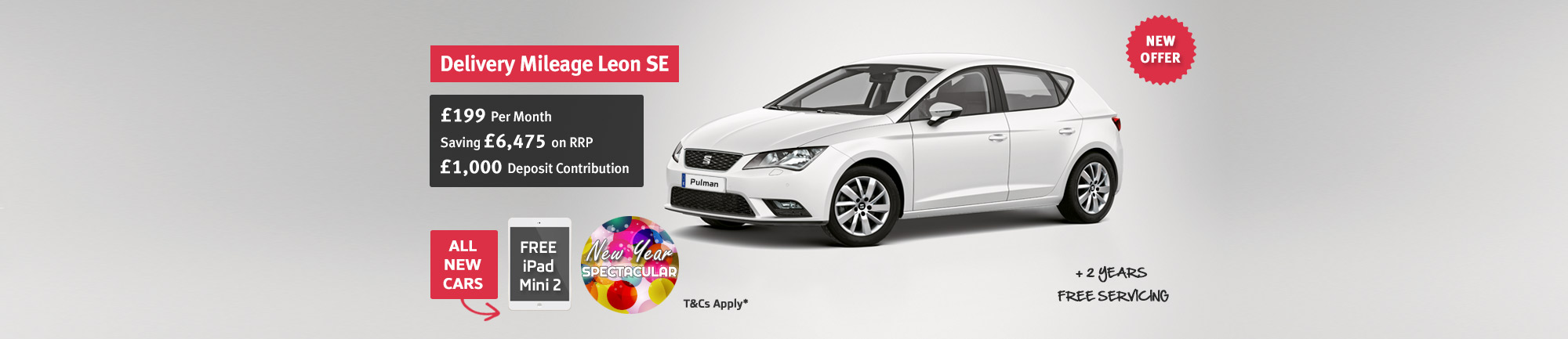 SEAT Leon SE - Saving £6,475 on RRP
