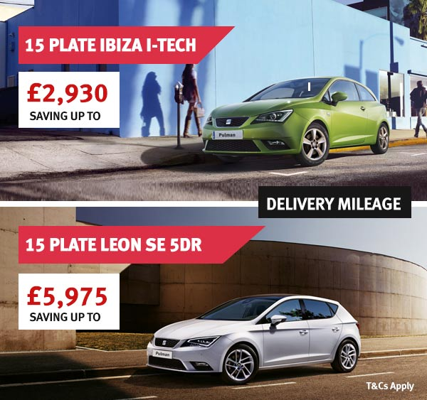 Delivery Mileage Ibiza I-TECH - Now only £11,000