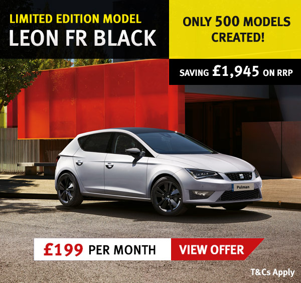New Leon FR Black - £199 per month
