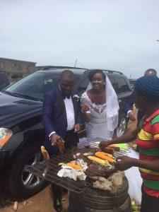 Hon Ike C. Ibe and his beautiful bride, Uche,