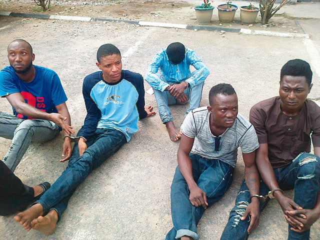 5 Men Posing As Women Lured A Woman To Lagos Hotel & Gang-Raped Her (Photo)