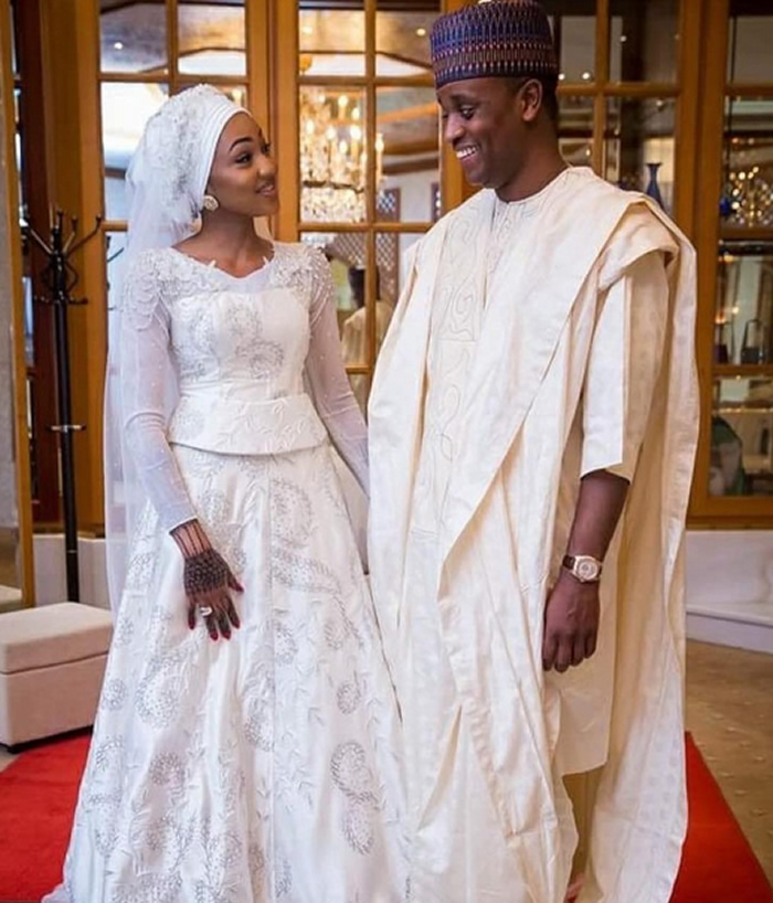 PHOTO: Buhari's Daughter's Wedding